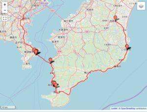 旅先で撮った写真を簡単に地図にプロットするツール